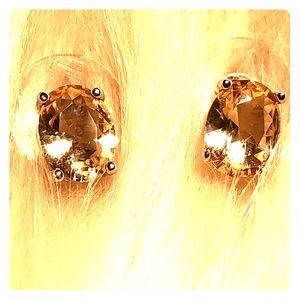 Jewelry - Morganite Gemstone Stud Earrings